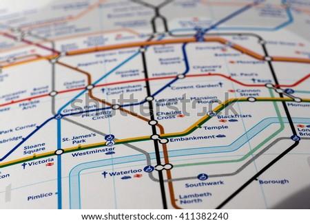 London Uk Circa April 2016 Detail Stock Photo Edit Now 411382240
