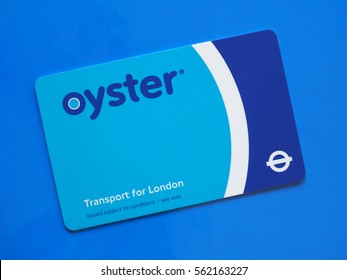 Oyster card images stock photos vectors shutterstock london uk circa december 2016 the oyster card uses near field communication technology colourmoves