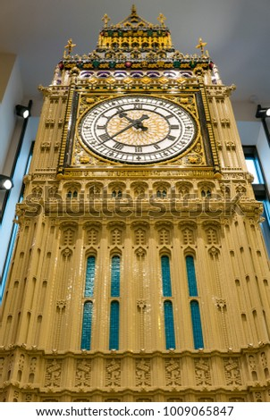 London Uk Circa January 2018 Lego Stock Photo Edit Now 1009065847