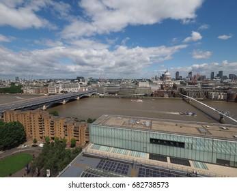 LONDON, UK - CIRCA JUNE 2017: View of the city skyline