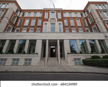LONDON, UK - CIRCA JUNE 2017: Savoy Place, Institution of Electrical Engineers