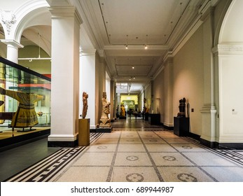 LONDON, UK - CIRCA JUNE 2017: Victoria and Albert (VA) museum (high dynamic range)