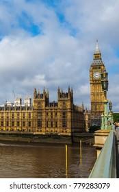LONDON, UK - CIRCA JUNE 2017: Houses of Parliament aka Westminster Palace (high dynamic range)
