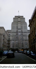 LONDON, UK - CIRCA JUNE 2019: Senate House at University of London, Ministry of Information during WW2 and inspiration for George Orwell Ministry of Truth in 1984