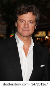 London, UK. Colin Firth  at the 'A Single Man'  premiere  at Vue West End, London. The London Film Festival. 16th October 2009.