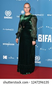 LONDON, UK. December 02, 2018: Samantha Morton at the British Independent Film Awards 2018 at Old Billingsgate, London.
