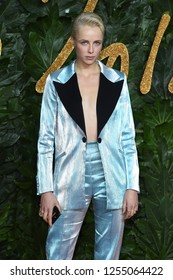 LONDON, UK. December 10, 2018: Edie Campbell at The Fashion Awards 2018 at the Royal Albert Hall, London.Picture: Steve Vas/Featureflash