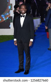 "LONDON, UK. December 12, 2018: Kobna Holdbrook-Smith at the UK premiere of ""Mary Poppins Returns"" at the Royal Albert Hall, London.