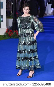 "LONDON, UK. December 12, 2018: Emily Mortimer at the UK premiere of ""Mary Poppins Returns"" at the Royal Albert Hall, London.