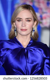 "LONDON, UK. December 12, 2018: Emily Blunt at the UK premiere of ""Mary Poppins Returns"" at the Royal Albert Hall, London.