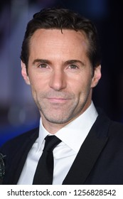 "LONDON, UK. December 12, 2018: Alessandro Nivola at the UK premiere of ""Mary Poppins Returns"" at the Royal Albert Hall, London.