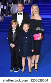 "LONDON, UK. December 12, 2018: Joel Dawson at the UK premiere of ""Mary Poppins Returns"" at the Royal Albert Hall, London.