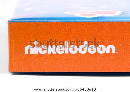 London Uk December 18th 2017 Nickelodeon Stock Photo Edit Now