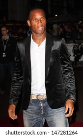 London, UK. Didier Drogba at the World Premiere of 'Dead Man Running' held at the Odeon West End cinema, Leicester Square, London. 22nd October 2009. Keith Mayhew/Landmark Media .