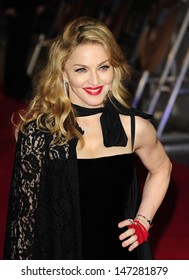 London, UK. Director, Madonna at the gala screening of W.E. held at The Odeon, High St Kensington. 11th January 2012