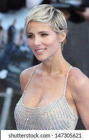 London. UK.   Elsa Pataky  at the  World Premiere of  Fast and Furious 6  at the Empire Cinema, Leicester Square. London. 7th May 2013.