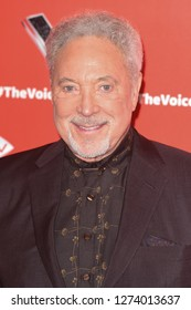 "LONDON, UK. January 03, 2019: Sir Tom Jones at the launch photocall for the 2019 series of ""The Voice"" London.