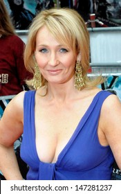 London, UK. JK Rowling at the premiere of the film 'Harry Potter and the Half-Blood Prince' held at the Odeon Cinema, Leicester Square. 7th July 2009.