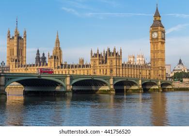London, UK, July 11.2014 - Big Ben in London