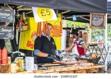 London, UK, July 14, 2019. London Street Food