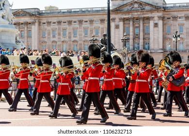London, UK - July 15,2016 - Buckingham Palace in London