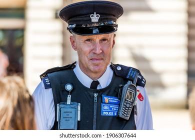 London, UK - July 15,2016 - London Police Officer