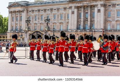 London, UK - July 16,2016 - Buckingham Palace in London