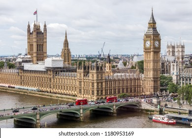 London, UK - July 16,2016 - Palace of Westminster in London