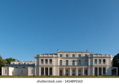 London UK, July 2019. Newly renovated Gunnersbury Park and Museum on the Gunnersbury Estate, once owned by the Rothschild family, now owned by Hounslow and Ealing Councils.