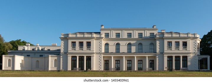 London UK, July 2019. Newly renovated Gunnersbury Park and Museum on the Gunnersbury Estate, once owned by the Rothschild family, now owned by Hounslow and Ealing Councils in west London.
