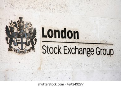 London, UK, July 26, 2014 : The London Stock Exchange based in the City of London at Paternoster Square has a market capitalisation of  US$3.266 trillion