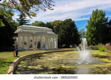 London / UK - July 30 2020: Gunnersbury Park Orangery in Hounslow, West London