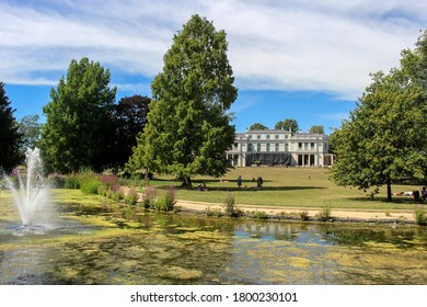 London / UK - July 30 2020: Gunnersbury Park House and Garden, West London