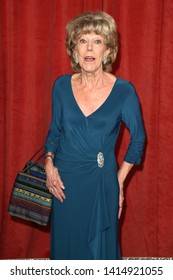 LONDON, UK. June 01, 2019: Sue Nicholls arriving for The British Soap Awards 2019 at the Lowry Theatre, Manchester.Picture: Steve Vas/Featureflash