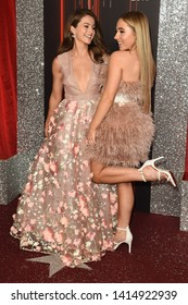 LONDON, UK. June 01, 2019: Ruby O' Donnell & Lauren McQueen arriving for The British Soap Awards 2019 at the Lowry Theatre, Manchester.Picture: Steve Vas/Featureflash