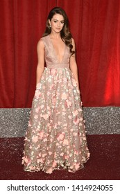 LONDON, UK. June 01, 2019: Lauren McQueen arriving for The British Soap Awards 2019 at the Lowry Theatre, Manchester.Picture: Steve Vas/Featureflash