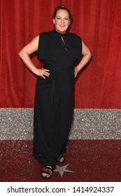 LONDON, UK. June 01, 2019: Lorraine Stanley arriving for The British Soap Awards 2019 at the Lowry Theatre, Manchester.Picture: Steve Vas/Featureflash