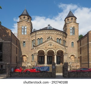 LONDON, UK - JUNE 10, 2015: Abbey Road Baptist Church