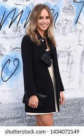 LONDON, UK. June 25, 2019: Suki Waterhouse arriving for the Serpentine Gallery Summer Party 2019 at Kensington Gardens, London.
