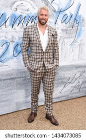 LONDON, UK. June 25, 2019: Chris Robshaw arriving for the Serpentine Gallery Summer Party 2019 at Kensington Gardens, London.Picture: Steve Vas/Featureflash