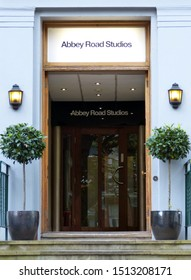 London, UK - June 30, 2014: Abbey Road recording studios. In Abbey Road the most famous records in the history of modern music have been made.