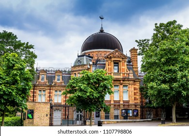 LONDON, UK - JUNE 9, 2015: Royal Observatory, Greenwich Park