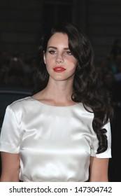 London, UK. Lana Del Rey at the GQ Men of the Year Awards at the Royal Opera House, Covent Garden. 4th September 2012. Ref: LMK73-40413-050912 Keith Mayhew/Landmark Media