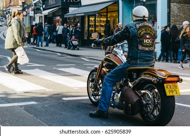 Harley Davidson Man Images, Stock Photos & Vectors | Shutterstock