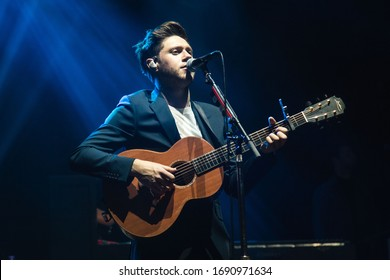 London, UK -  March 22nd 2018:  Niall Horan performs live at the O2 Academy Brixton,  London, England.  live at the O2 Arena,  London, England.