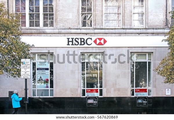 London Uk March 27 Hsbc Bank Stock Photo (Edit Now) 567620869