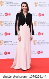 LONDON, UK. May 12, 2019: Suranne Jones arriving for the BAFTA TV Awards 2019 at the Royal Festival Hall, London.