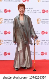 LONDON, UK. May 12, 2019: Ruth Maddock arriving for the BAFTA TV Awards 2019 at the Royal Festival Hall, London.