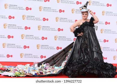 LONDON, UK. May 12, 2019: Daisy May Cooper arriving for the BAFTA TV Awards 2019 at the Royal Festival Hall, London.Picture: Steve Vas/Featureflash