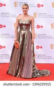 LONDON, UK. May 12, 2019: Camilla Kerslake arriving for the BAFTA TV Awards 2019 at the Royal Festival Hall, London.Picture: Steve Vas/Featureflash